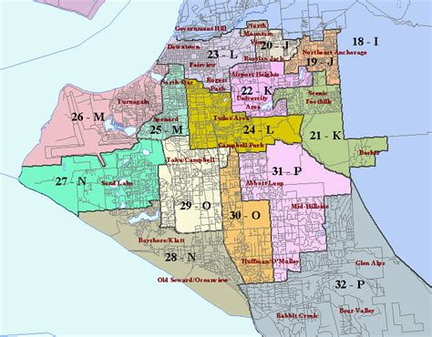 anchorage alaska us map map of anchorage municipality alaska travelsmaps