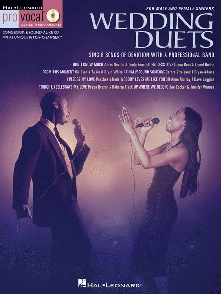Wedding Songs Duets by Wedding Duets Sheet By Various Sheet Plus