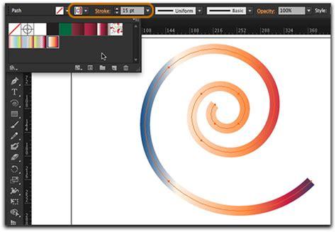 adobe illustrator cs6 gradient tutorial illustrator cs6 tutorial gradients on strokes