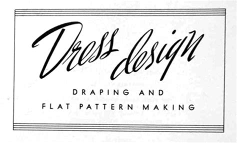 dress design draping and flat pattern the vintage pattern files 1940 s sewing dress design
