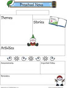 free newsletter templates for preschool the december preschool newsletter template can help you