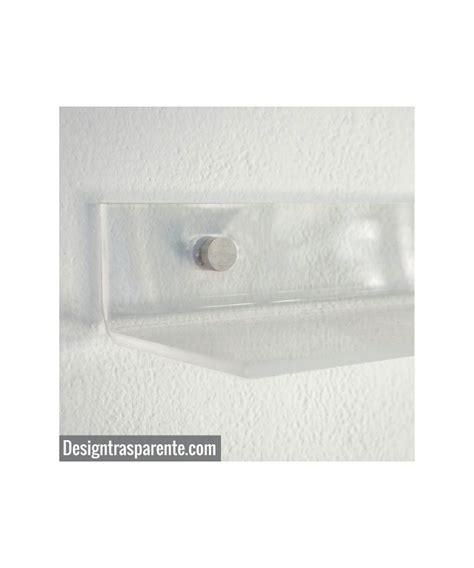 mensole plexiglass mensola 50x15 in plexiglass trasparente senza staffe