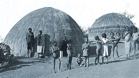 tradisionele xhosa hutte die nguni suidelike afrika