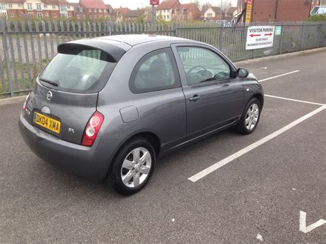 nissan micra 2004 nissan micra 1 2 sx 2004 60000 chester cars