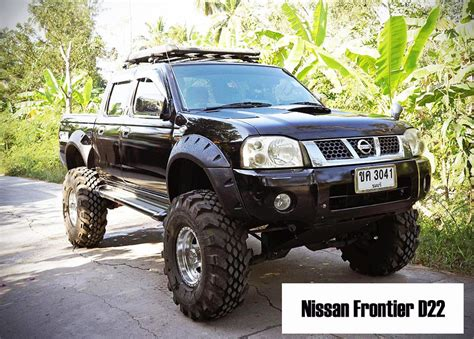 Nissan Frontier Road Parts by Jungle Offroad Fender Flares Wheel Arch For Nissan