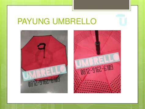 Payung Terbalik Di Bandung 0812 9162 6109 umbrello cetak logo payung terbalik di