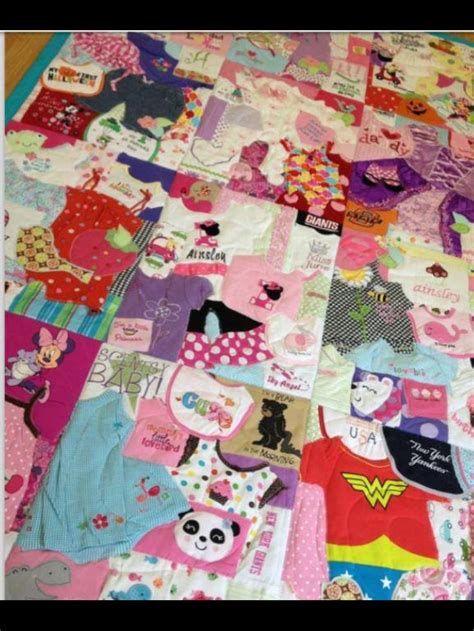 Baby Clothes Quilt Maker by 17 Best Images About Quilts Baby Clothes On