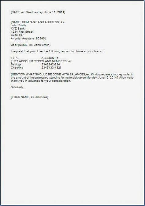 request letter format bank account closing letter format bank account best 2018 request letter