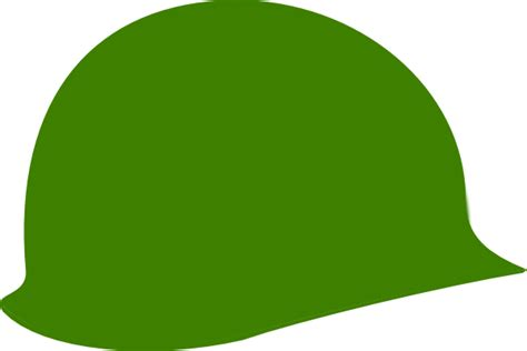 Soldier Helmet Outline by Green Soldier Helmet Clip At Clker Vector Clip Royalty Free Domain