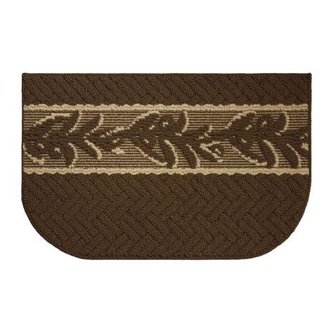berber kitchen rugs creative home ideas olive brunch textured loop chocolate berber 18 in x 30 in kitchen rug