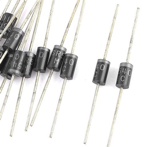 rectifier diode 5a 20 pcs axial leaded sr540 rectifier schottky diodes 5a 40v new ebay