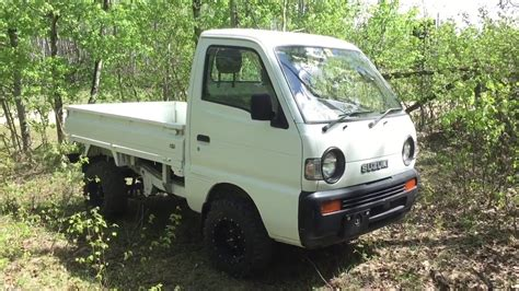 suzuki box truck suzuki carry mini truck with dump box youtube