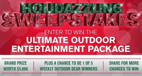 The Ultimate Entertaining Giveaway by Holidazzling Sweepstakes Sweepstakesbible