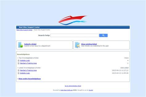 web design centered layout website design client boat sites support center