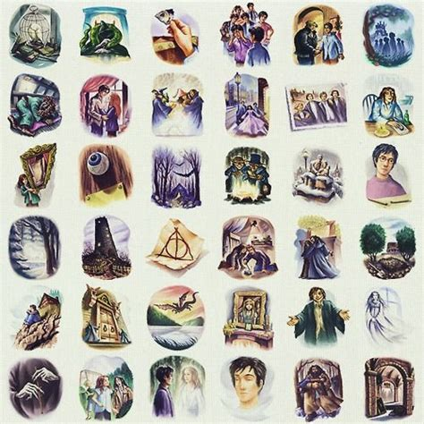 harry potter coloring book chapters deathly hallows chapter pictures colored they missed the