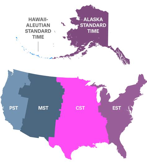 us time zone map alaska us central time zone map