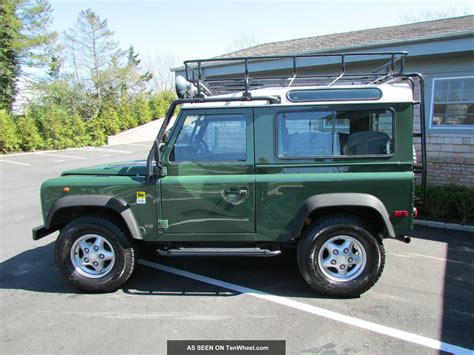 defender land rover 1997 land rover 1997 28 images 1997 racing green