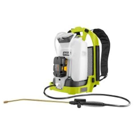 home depot paint sprayer ryobi ryobi one 1 5 gallon backpack deck sprayer ebay