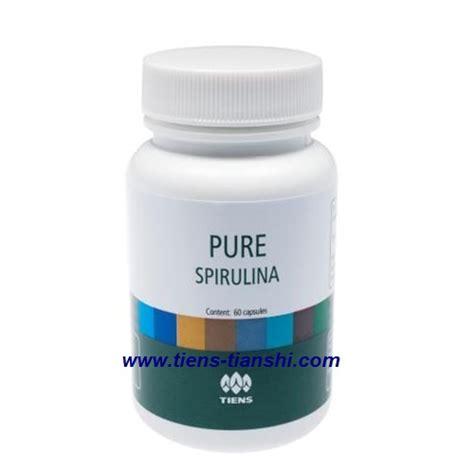Spiriluna Capsuls Tiens spirulina capsules