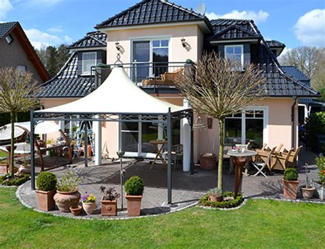 terrassen pavillon 4x4 bo wi outdoor living referenzen 220 berdachung
