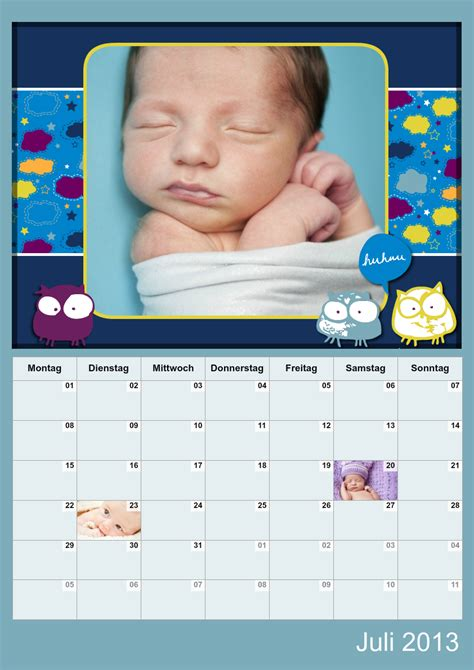 Fotokalender Design Vorlagen Fotokalender Goodnight Baby Designs Fambooks Net