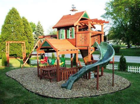 biggest backyard enjoyable big backyard madison wooden swing set backyard