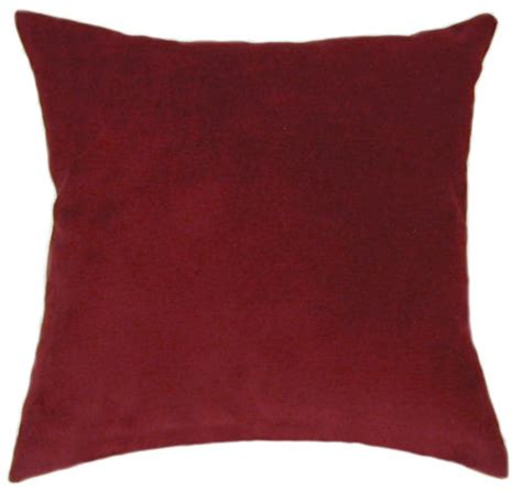 Suede Throw Pillow wine suede throw pillow sofa pillow accent pillow sale