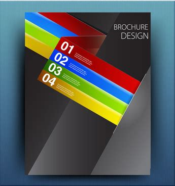 adobe illustrator brochure template free vector download