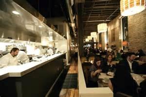 Restaurant Open Kitchen Design Open Kitchen Restaurant Hospitality Interior Design Of