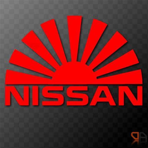 jdm sun details about nissan rising sun arc vinyl decal sticker