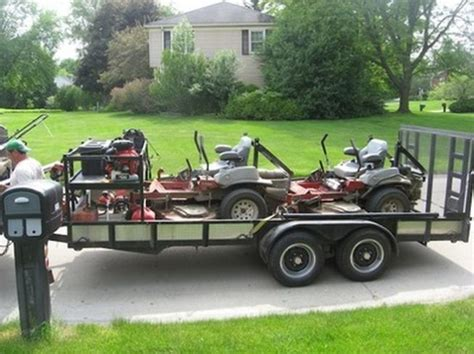 impressive landscape trailer accessories 8 lawn care