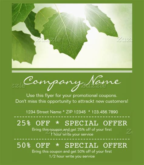 20 Coupon Flyer Templates Free Sle Exle Format Download Free Premium Templates Free Editable Flyer Templates