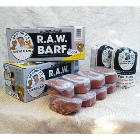 barf food dr b barf food combo 2 7kg 12 x 227g enfield produce