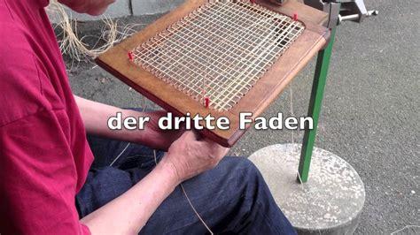 Wiener Geflecht Anleitung by Stuhlflechten
