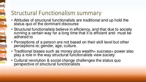 Functionalism Essay by Sociology Functionalist Essay