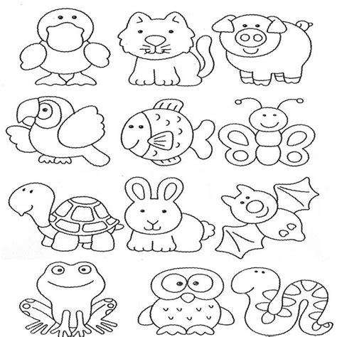 imagenes de animales animados para colorear dibujos animales tiernos para colorear buscar con google