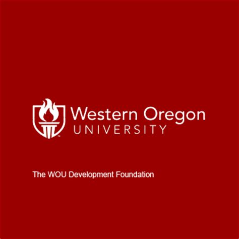Wou Find Western Oregon Development Foundation Charity Fundraising On Crowdrise