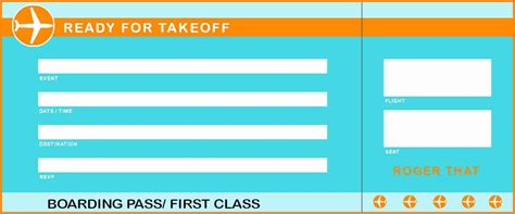 free printable plane ticket template 6 free plane ticket template askips