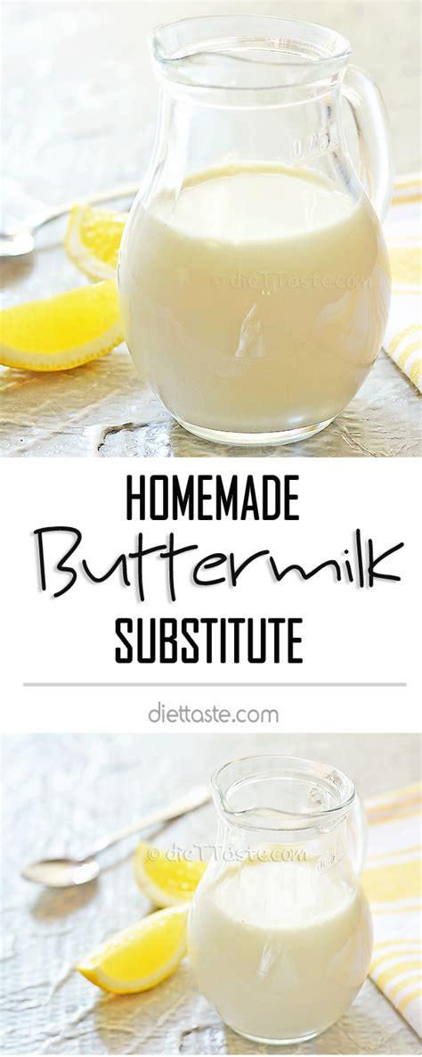 buttermilk substitute buttermilk substitute diet taste