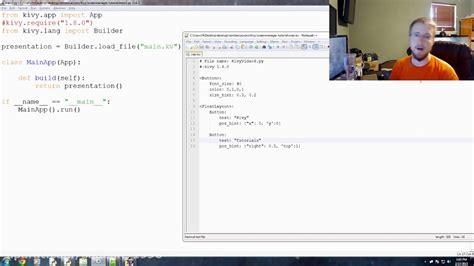 tutorial python kivy kivy with python tutorial part 10 screen manager