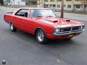70s Dodge Dodge Dart 1970 Black