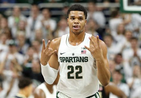 nba draft news michigans miles bridges  declare hires klutch sports