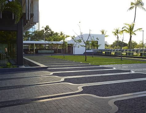 Landscape Architect Honolulu 2015 Asla 通用设计类荣誉奖 Ibm Honolulu Plaza 谷德设计网