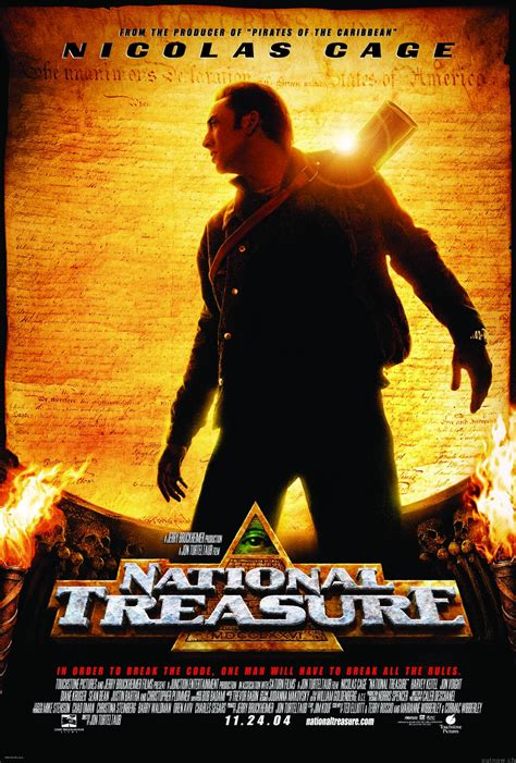 film nicolas cage streaming national treasure poster picture national treasure poster