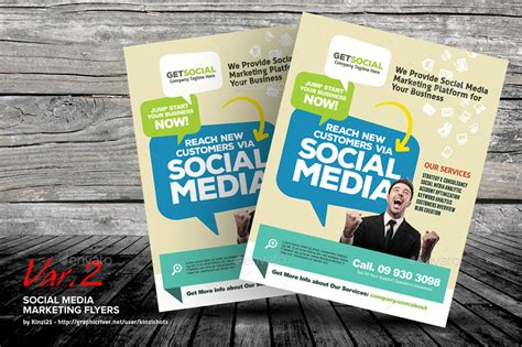 social media brochure template social media brochure template social media marketing flyer templates kinzishots graphicriver