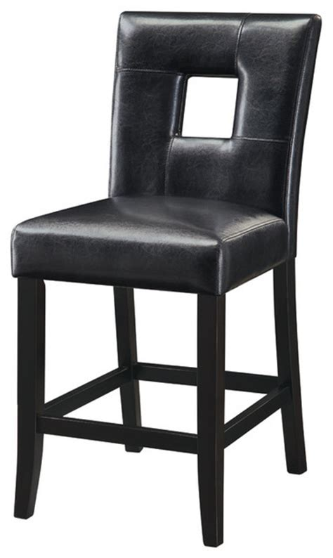 black bar stools counter height mix match 24in h counter height stool black set of 2