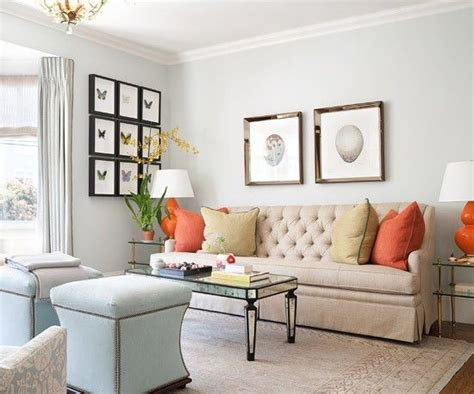 neutral wall colors for living room great neutral living room with pops of color home decor