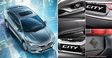 honda city  anniversary edition launched  inr  lakh