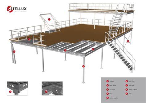 Level Floor stellux mezzanine construction