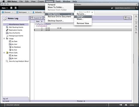 ibm notes mac